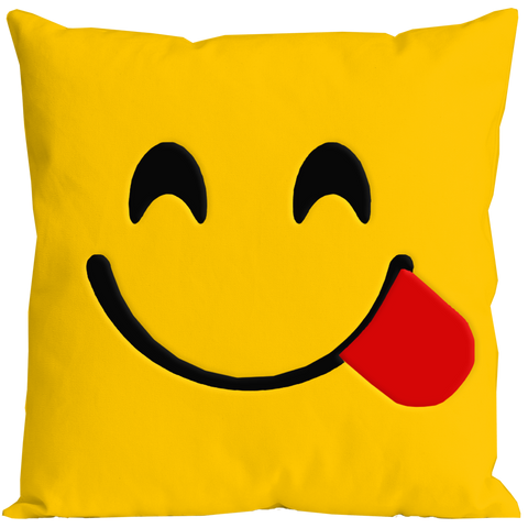 Emoticon Cheeky Pillow