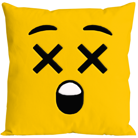 Emoticon Hurt Pillow