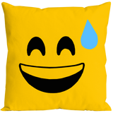 Emoticon Gotcha Pillow