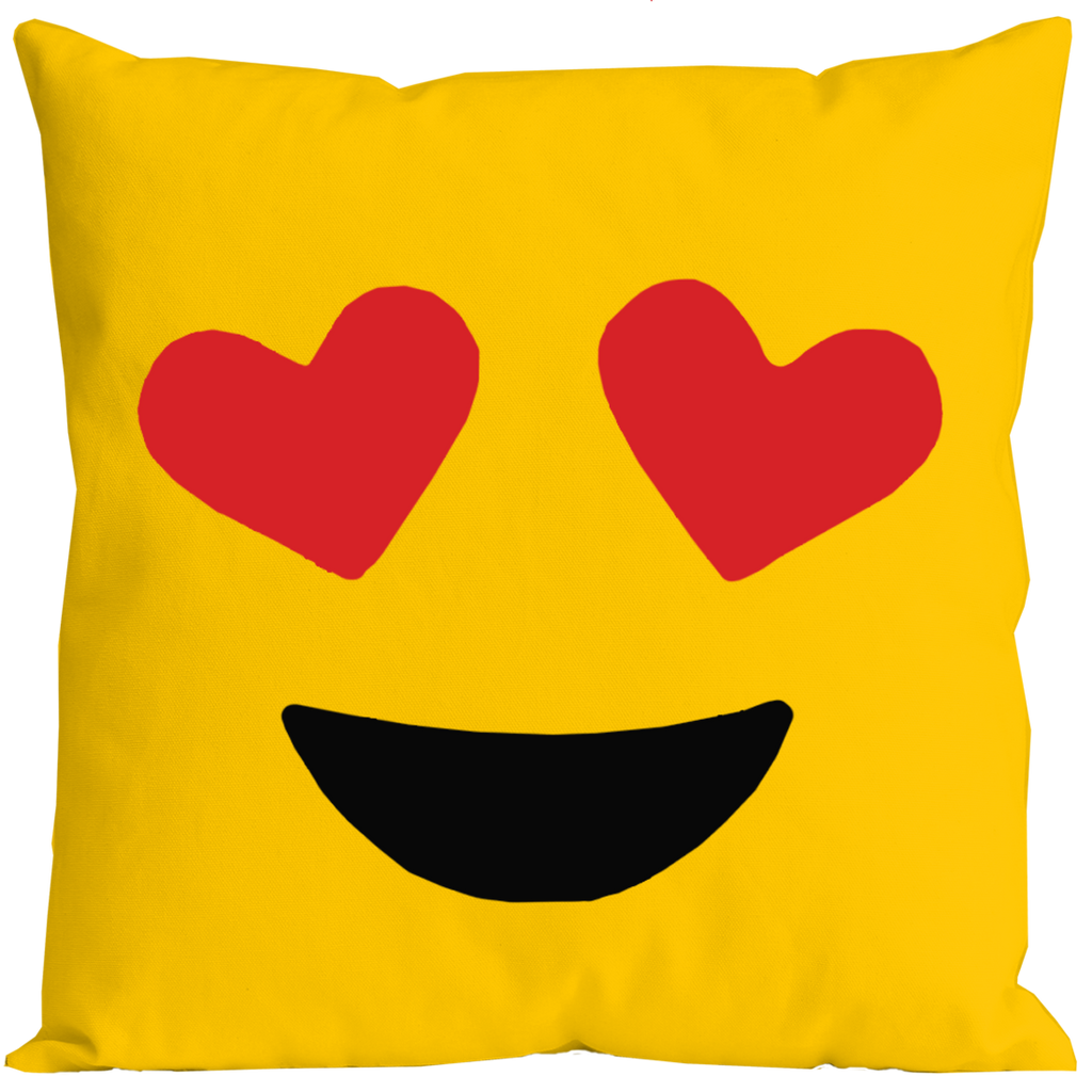 Emoticon In Love Pillow