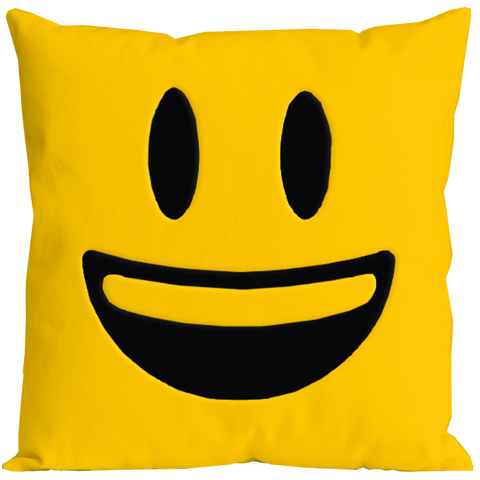 Emoticon Happy Pillow