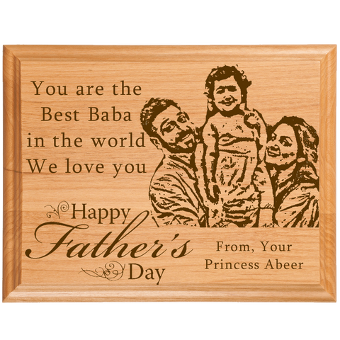 Father's Day Customized Plaque