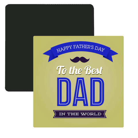 Dad Photo Magnet