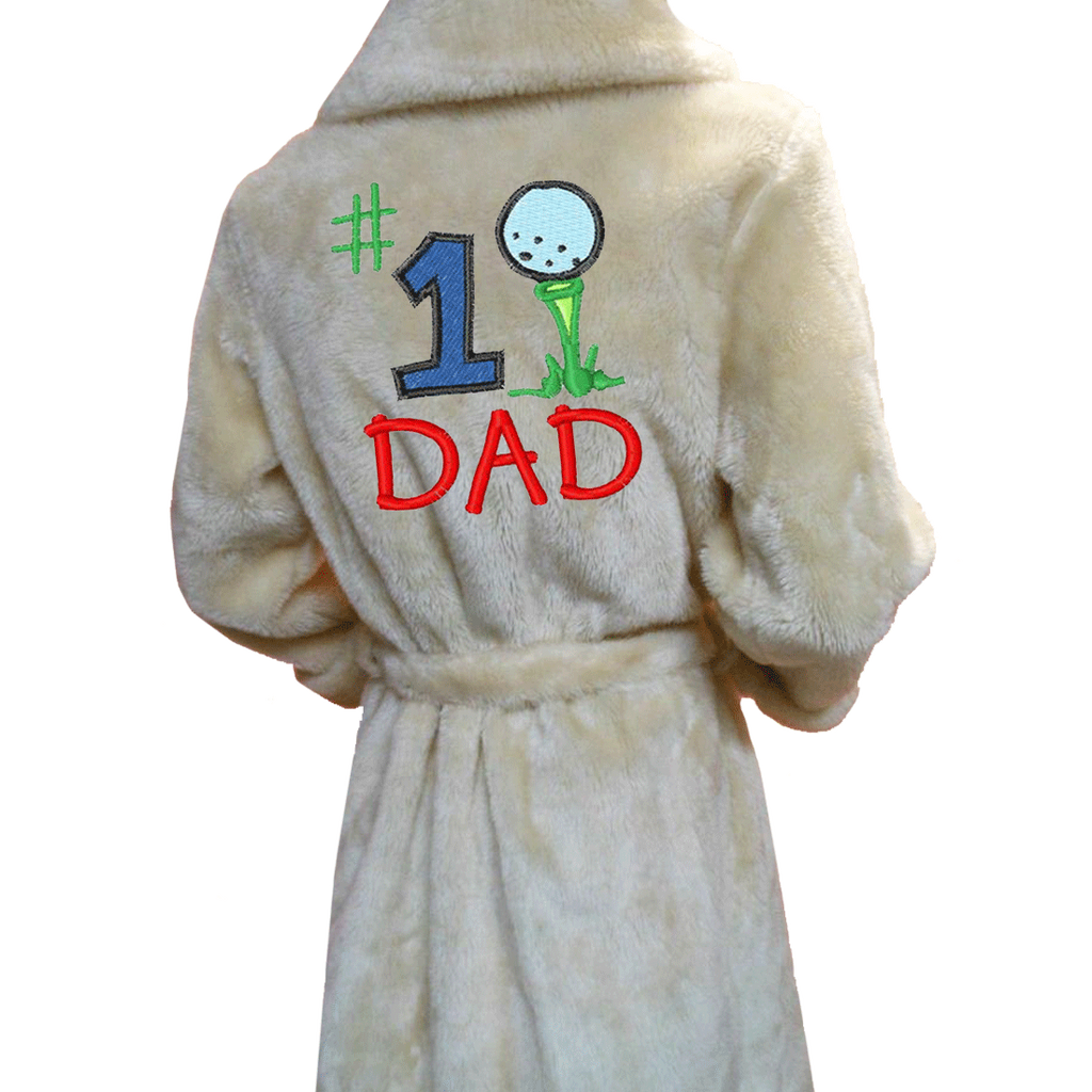 Customized Dad Bathrobe