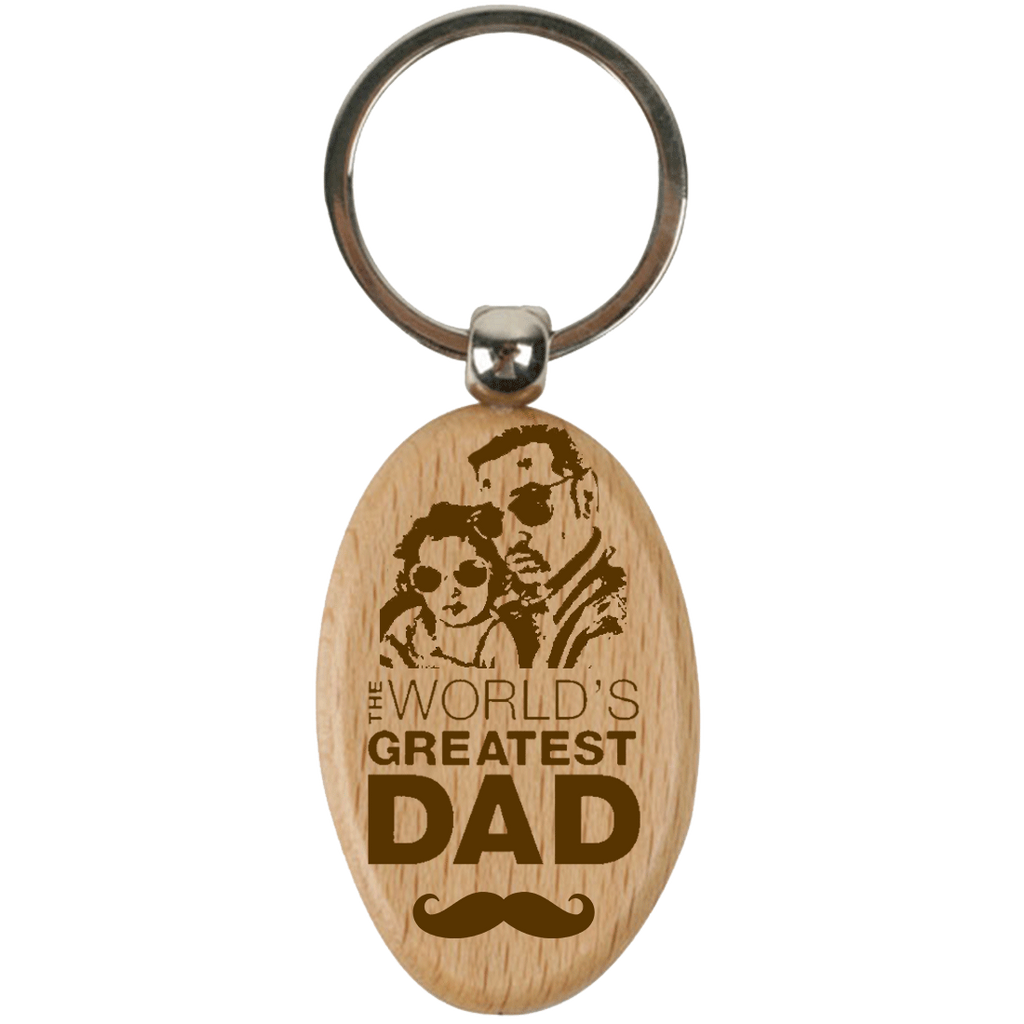 Customized Dad Keychain