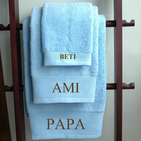 Family Personalized Towel Set