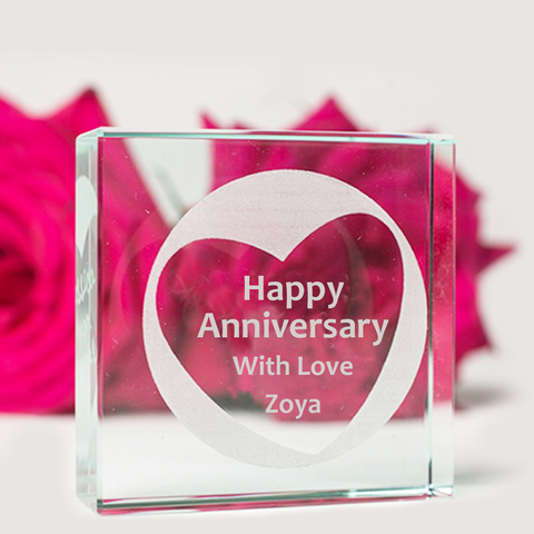 Personalized Couple Acrylic Block