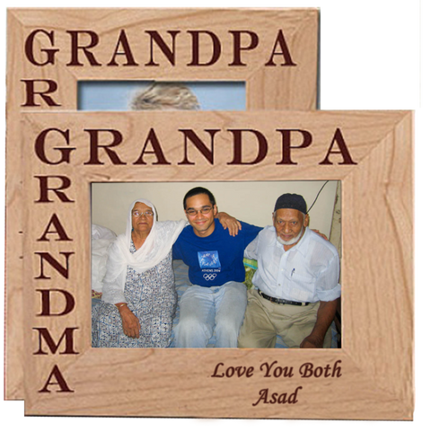 Grand Parents Wooden Frame