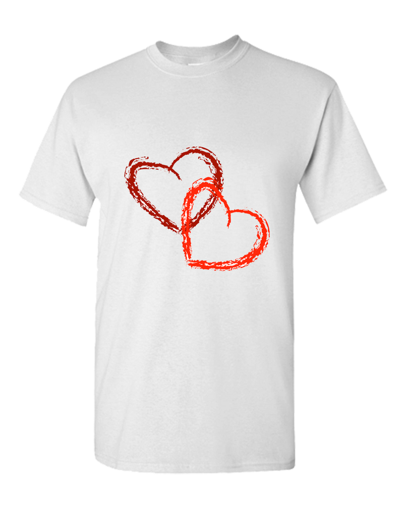 Two Hearts Personalized T-Shirt