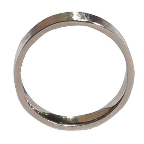 Pure Silver Texture Ring Band