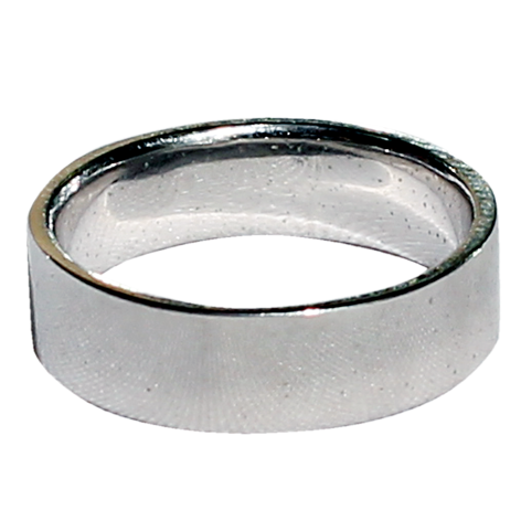 Pure Silver Radiant Finger Band