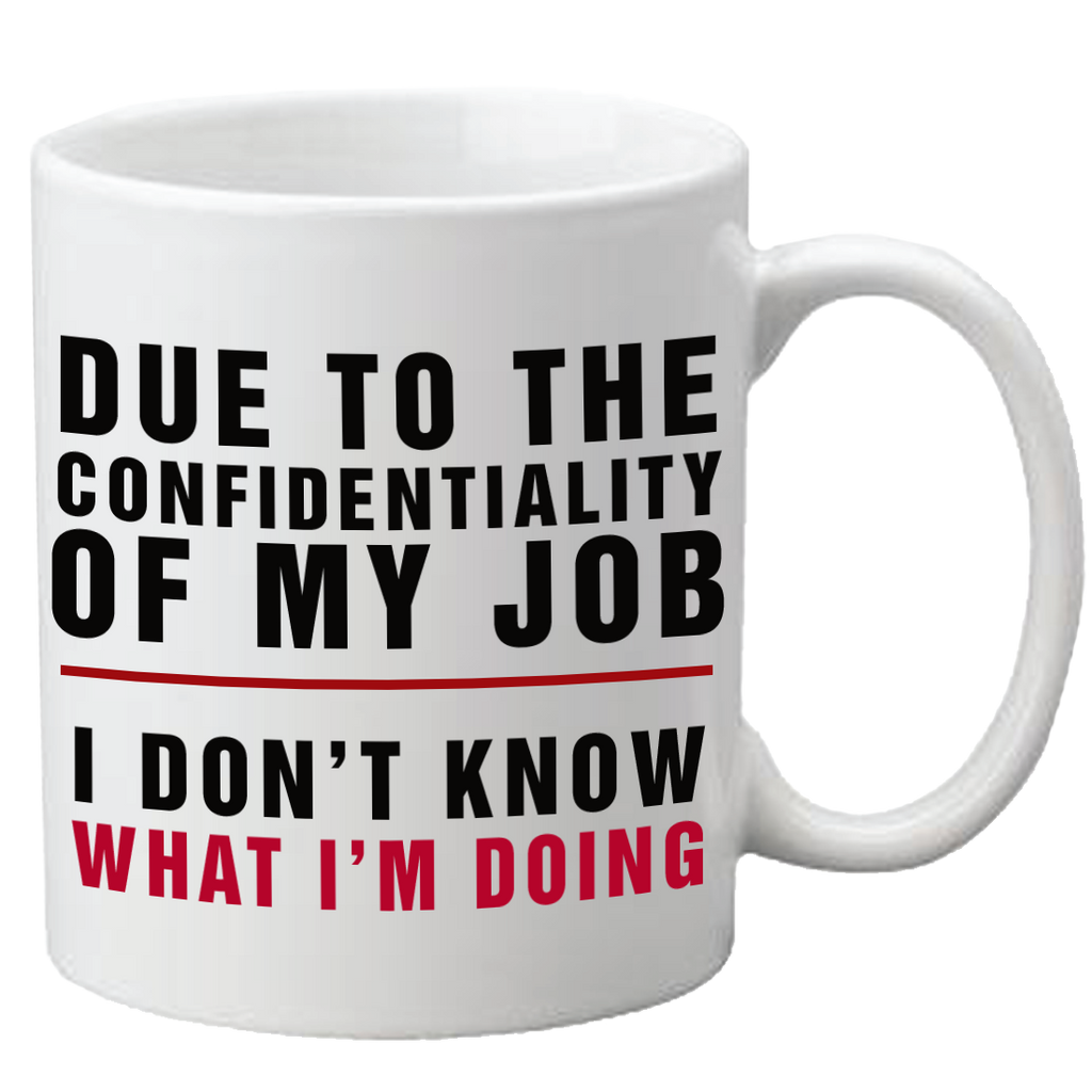 Confidentiality Mug