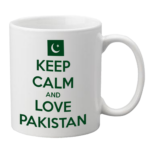 Love Pakistan Mug