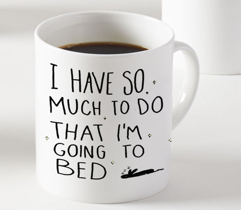 Going to Bed Mug