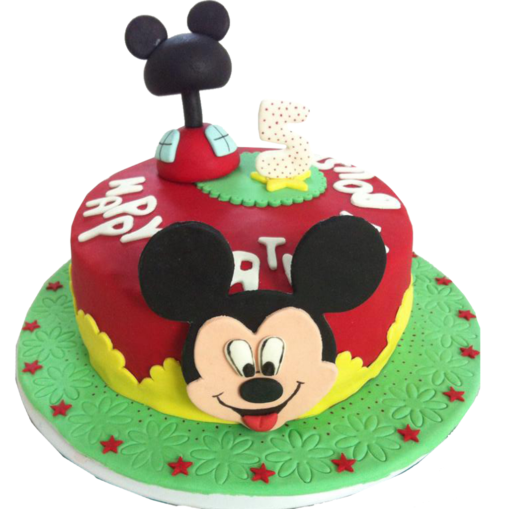 Mickey Mouse Themed Cake