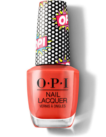 OPI Pops Nail Lacquer Pop Culture