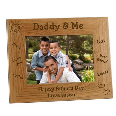 Father's Wooden Frame 2