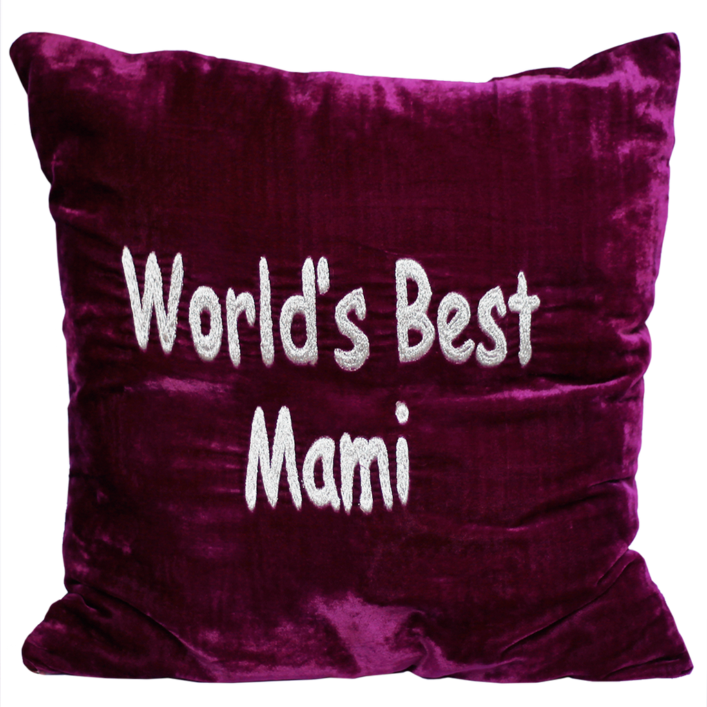 World's best Mami Pillow