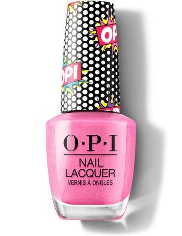 OPI Pink Bubbly Nail Lacquer Pop Culture