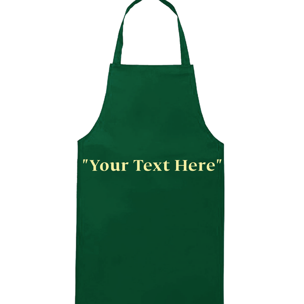 Customized Embroidered Apron