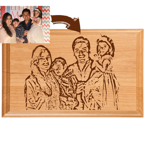Family Wooden Plaque