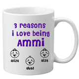 Personalized Reasons Mug