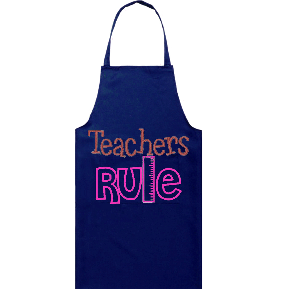 Personalized Teacher's Apron