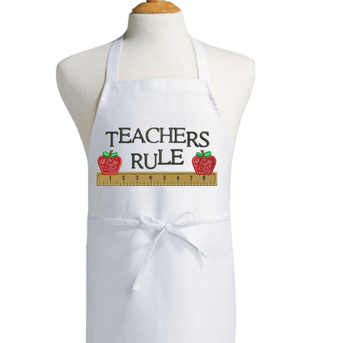 Customized Teacher's Apron