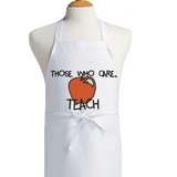 Embroidered Apron for Teachers
