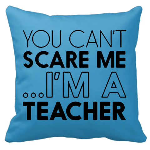 Personalized Teacher's Cushion