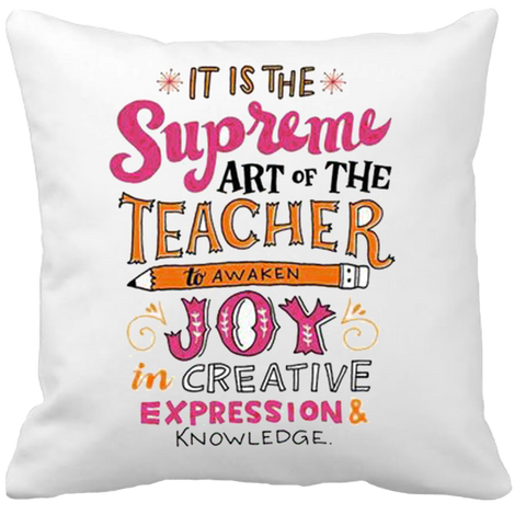 Customized Pillow for Teacher