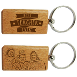 Customized Teacher's Keychain