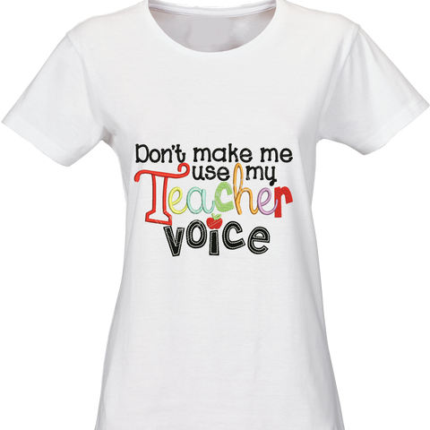 Customized Teacher's t-shirt