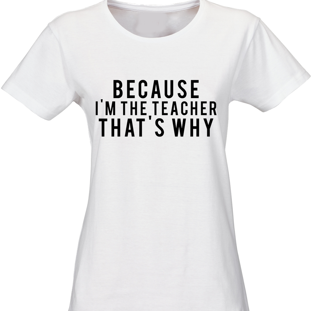 Custom Made Teachers' T-Shirt