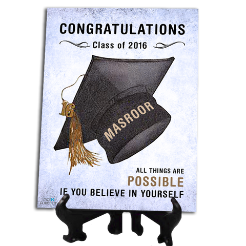 Customized Graduation Tile