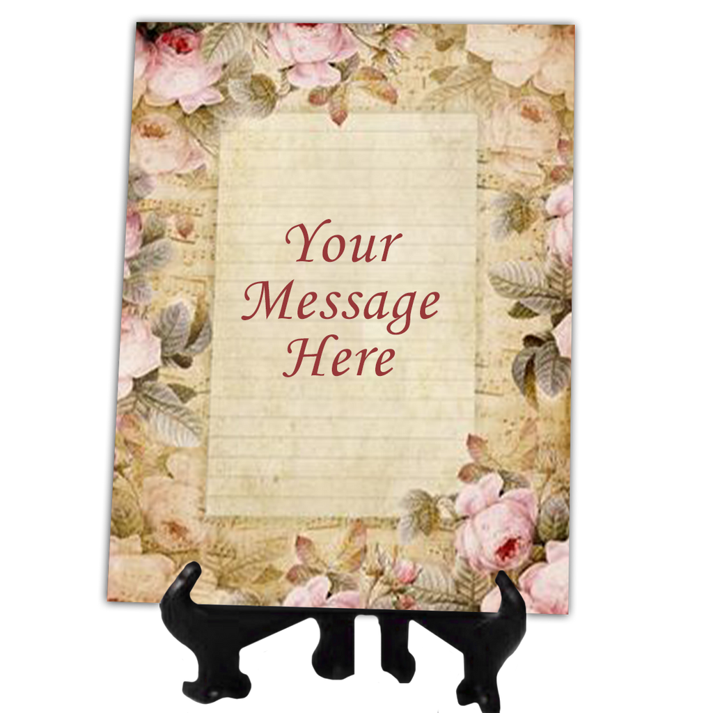 Customized ceramic tile mark a memory customized ceramic tile dailygadgetfo Images