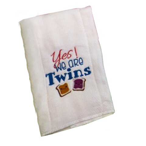 Customized Twins Towel