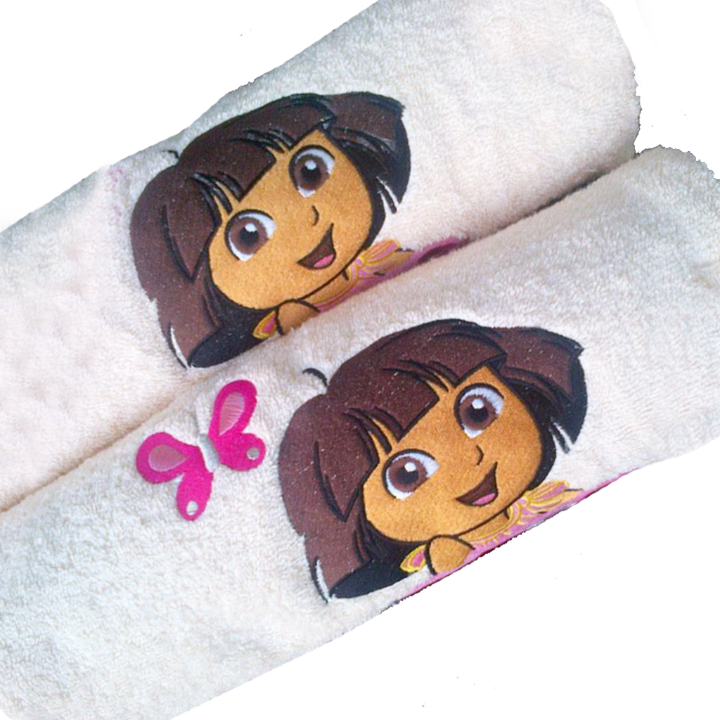 Dora Towel Set
