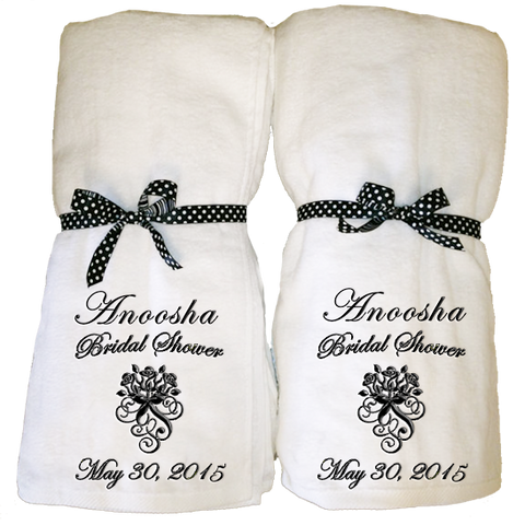 Bridal Shower Towel