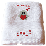Customized Love Towel 1
