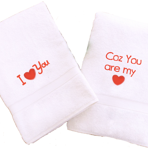 Customized Love Towel 4