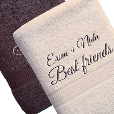 Best Friends Towel Set