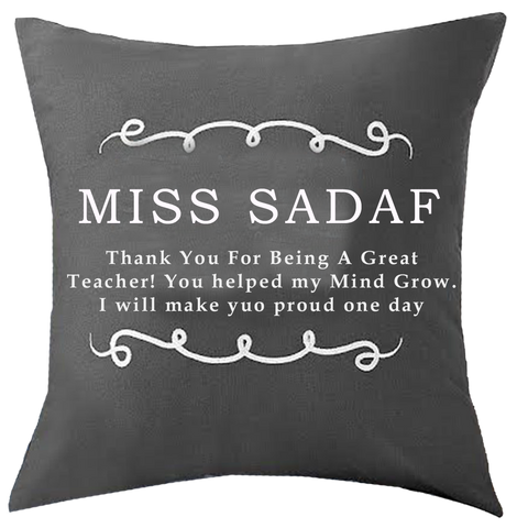 Classy Pillow for Teacher
