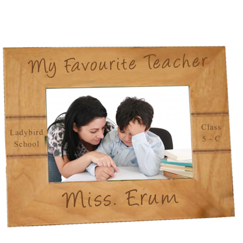 Teacher's Wooden Frame