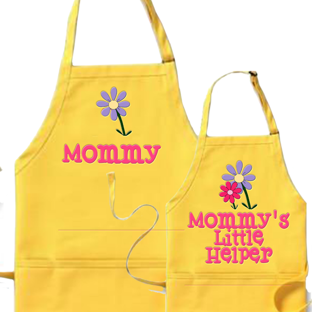 Mom & Daughter Apron