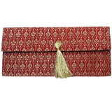 Red Banarsi Envelope