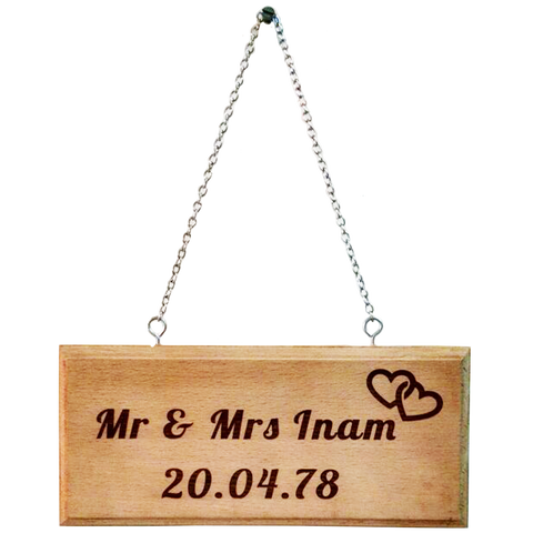 Wooden Plaque 1