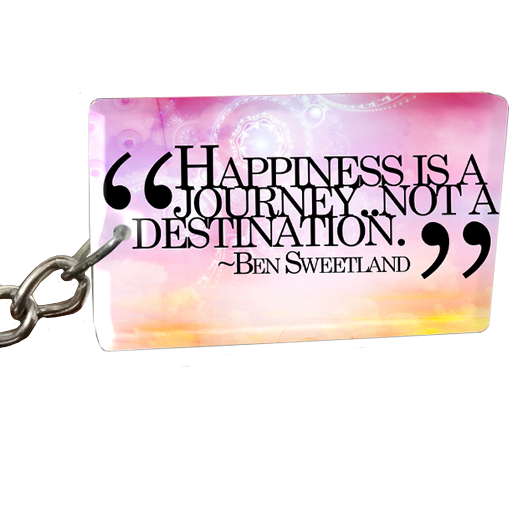 Happiness is Keychain