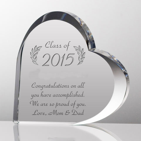 Customized Graduation Keepsake