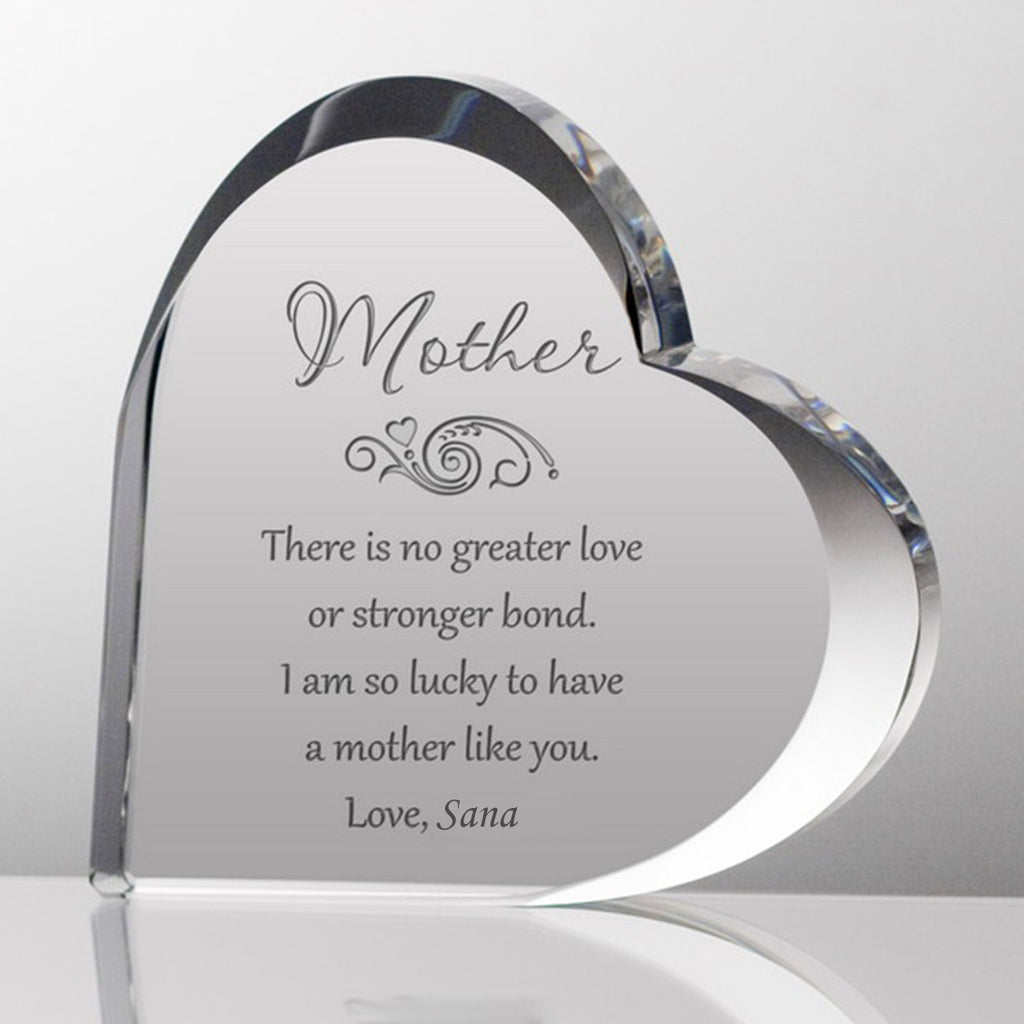 Mother's Customized Keepsake